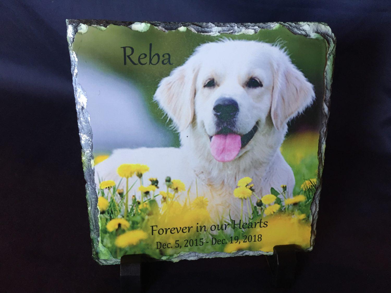 Precious Pet Cemetery - Slate Memorabilia