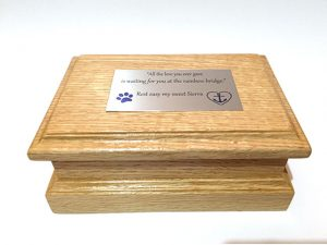 Precious Pet Cemetery - Personalized Wooden Urn